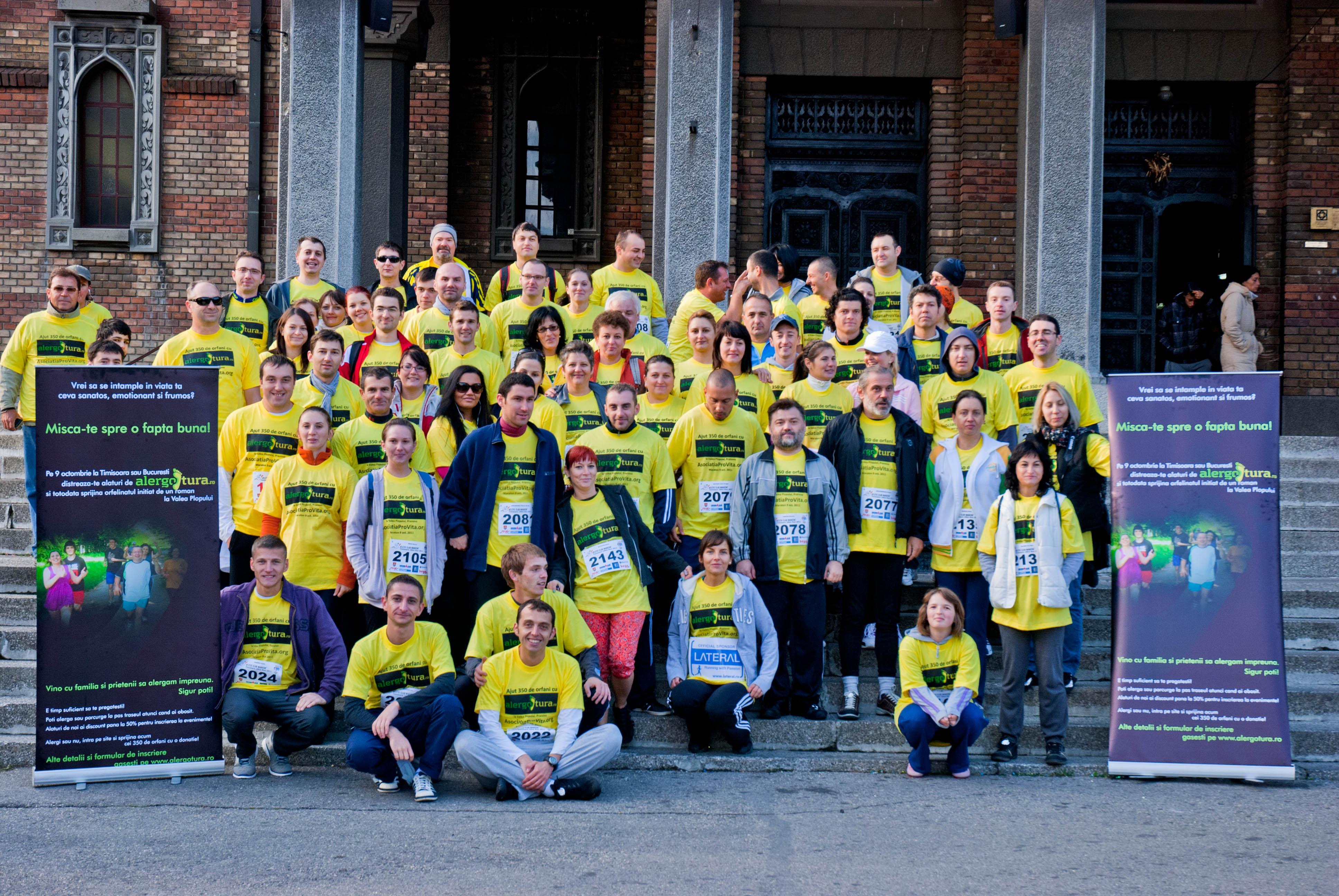 Maratonul caritabil - un succes datorat tuturor alergoturierilor