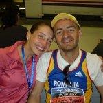 Maraton Barcelona - Codruta Damian si Mihai Albert
