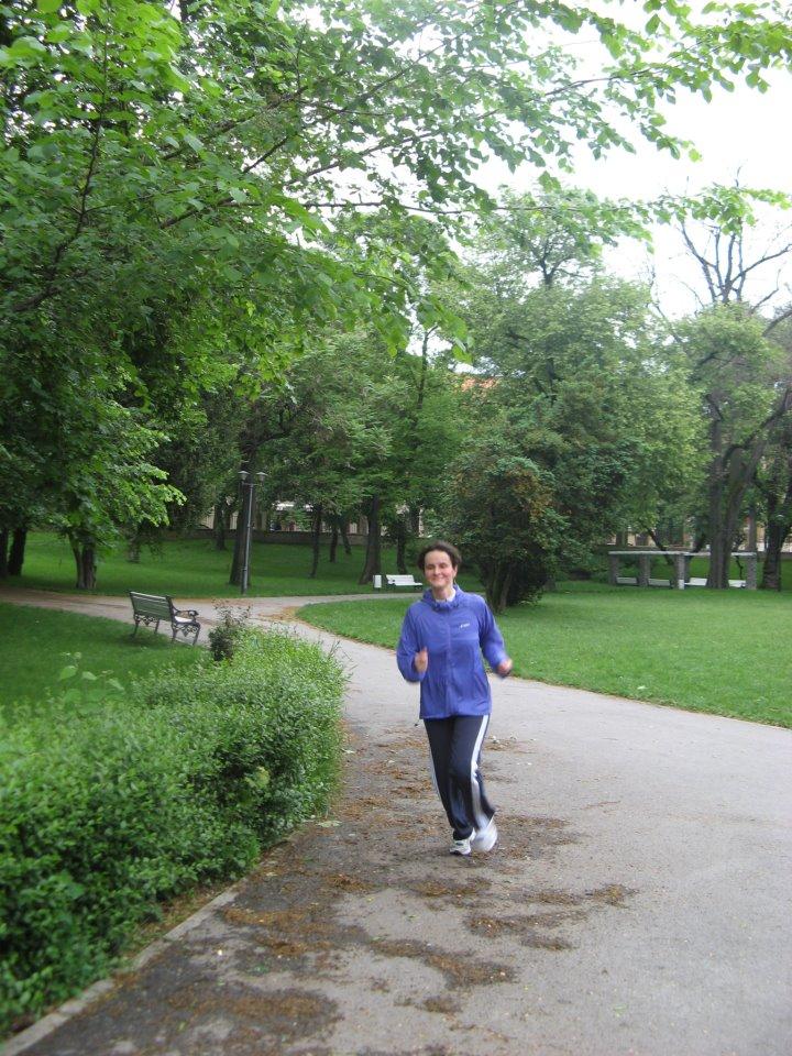 Locatie noua de alergotura, in Parcul Poporului