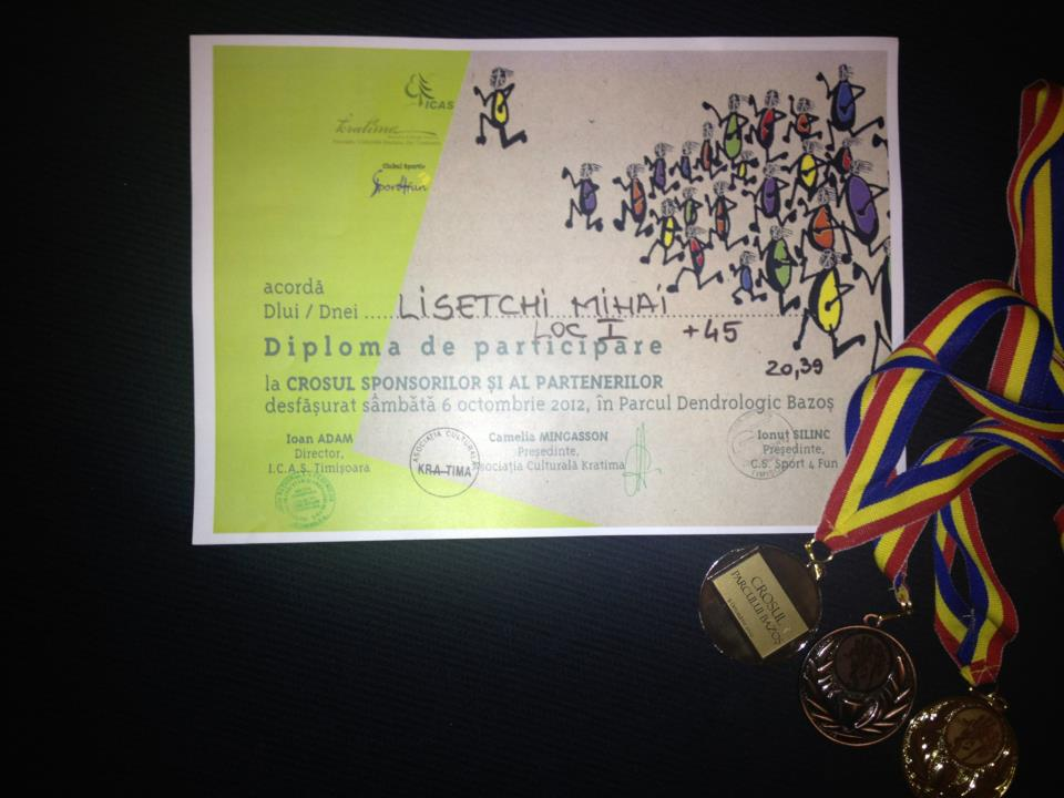 Premii pentru echipa Alergoturei