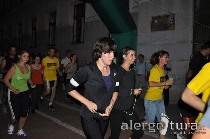 Alergotura la crosul nocturn din Timisoara