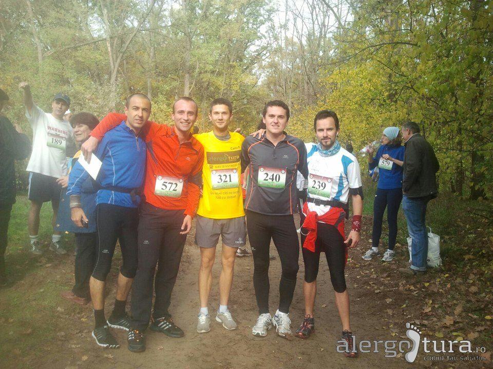 Alergatori la maratonul de la Debrecen