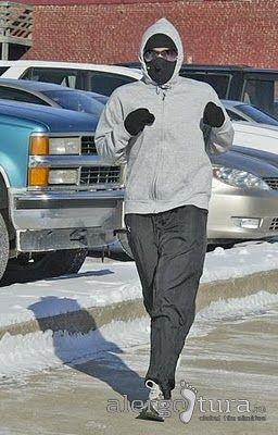 Accesorii de iarnă pentru alergare, care acoperă fața