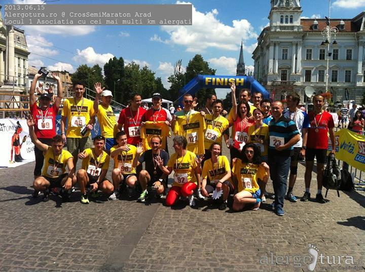 alergotura la cros semi maraton arad 2013