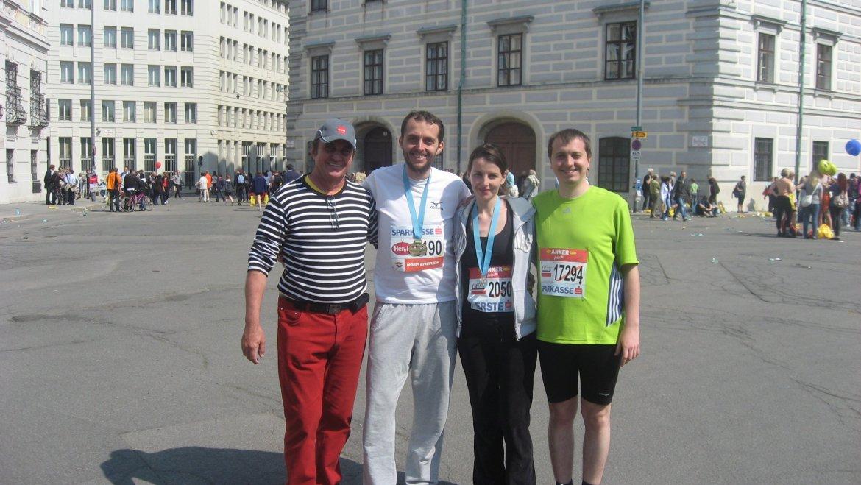 Maratonul de la Viena s-a terminat cu bine. Rezultate si impresii