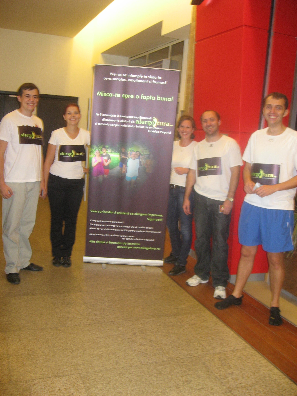 Sprijiniți de Iulius Mall, popularizăm alergarea caritabilă într-un mod inedit