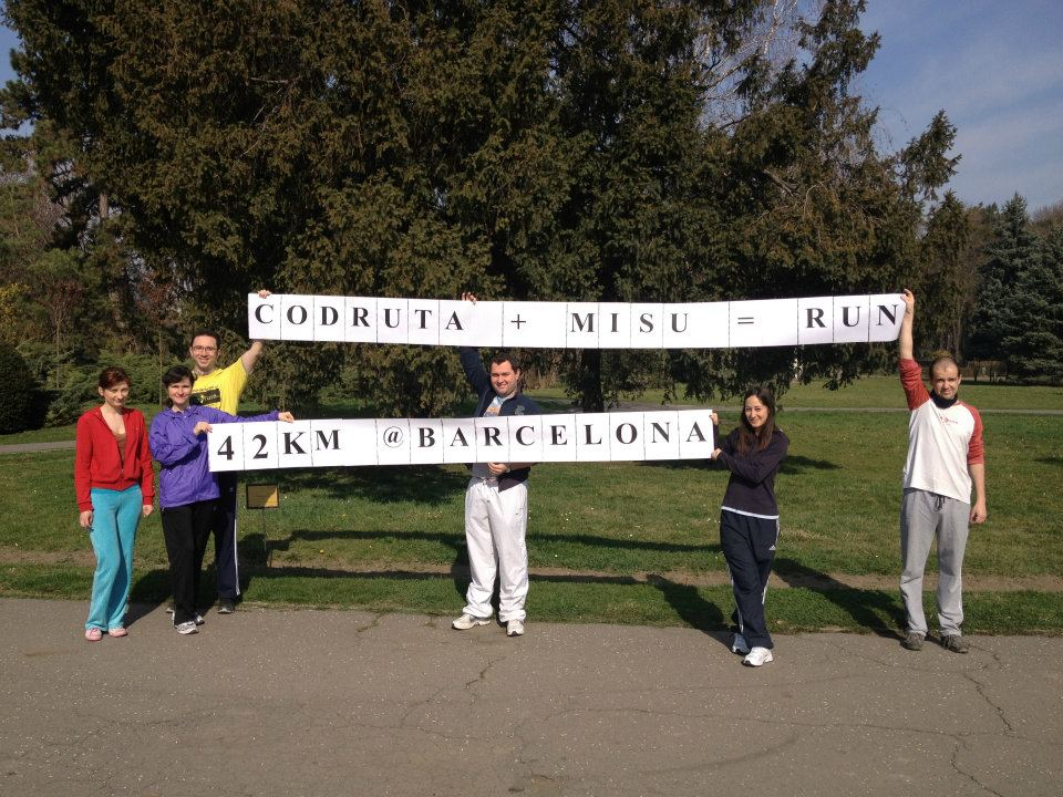 Maraton Barcelona – Codruta Damian si Mihai Albert