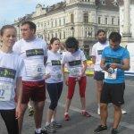 Alergotura a castigat la semi-maraton Arad 2012, locul 1 pentru echipa cu cei mai multi km alergati
