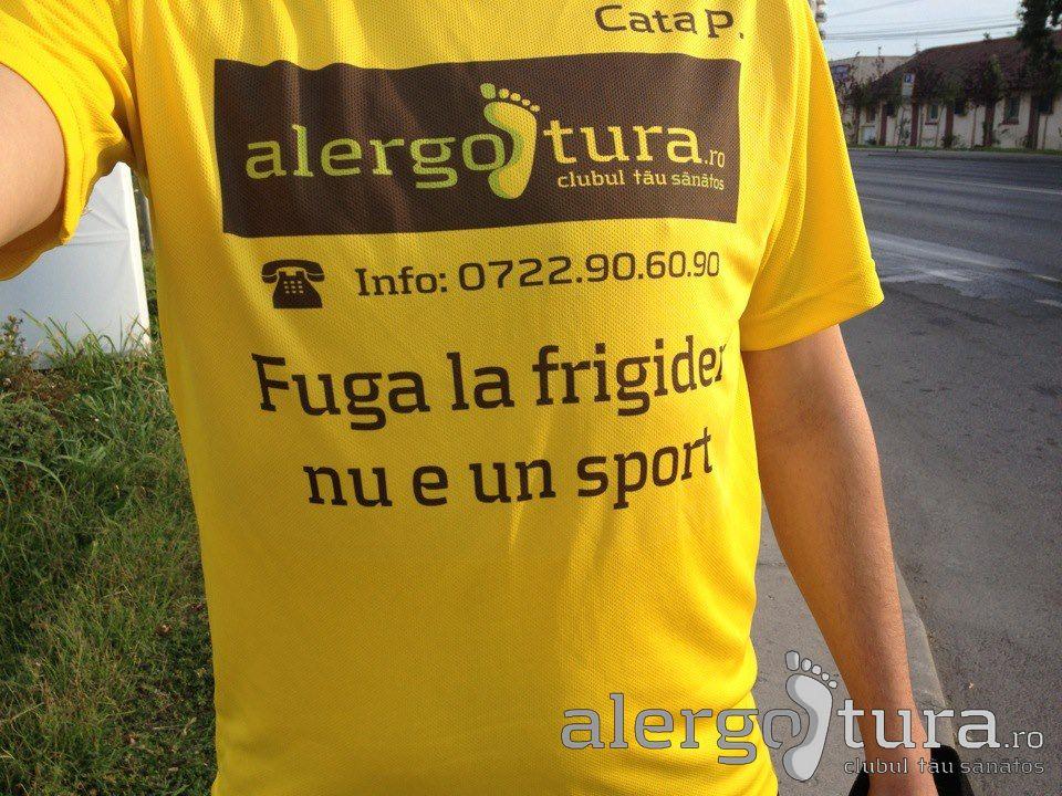 Mesaje motivationale pe tricou