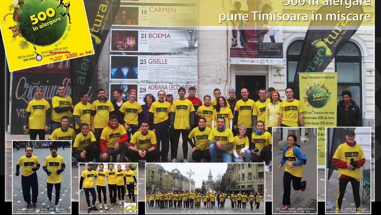 Află cui i se datorează ultimul record în alergare de la Timișoara! Presa a lăudat rezultatele și participanții la 500 în alergare!