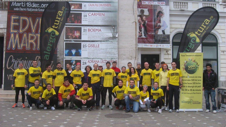 Am reușit un record în alergare pentru Timișoara! Mulțumim prietenilor noștri!