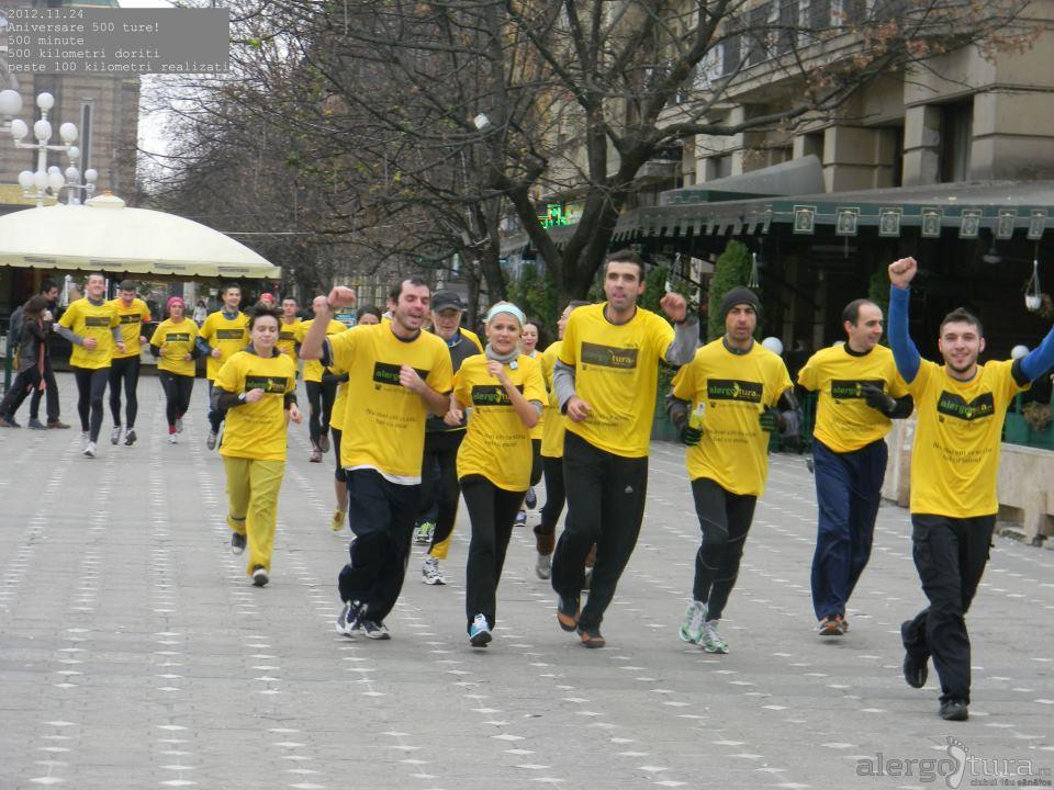 Televiziunea studenților din Timișoara, Tele U, a promovat povestea Alergoturei, misiunea clubului și planurile pentru 2013