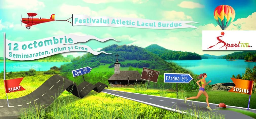 Pregatiti-va de alergat in octombrie la Festivalul Atletic Lacul Surduc 2013