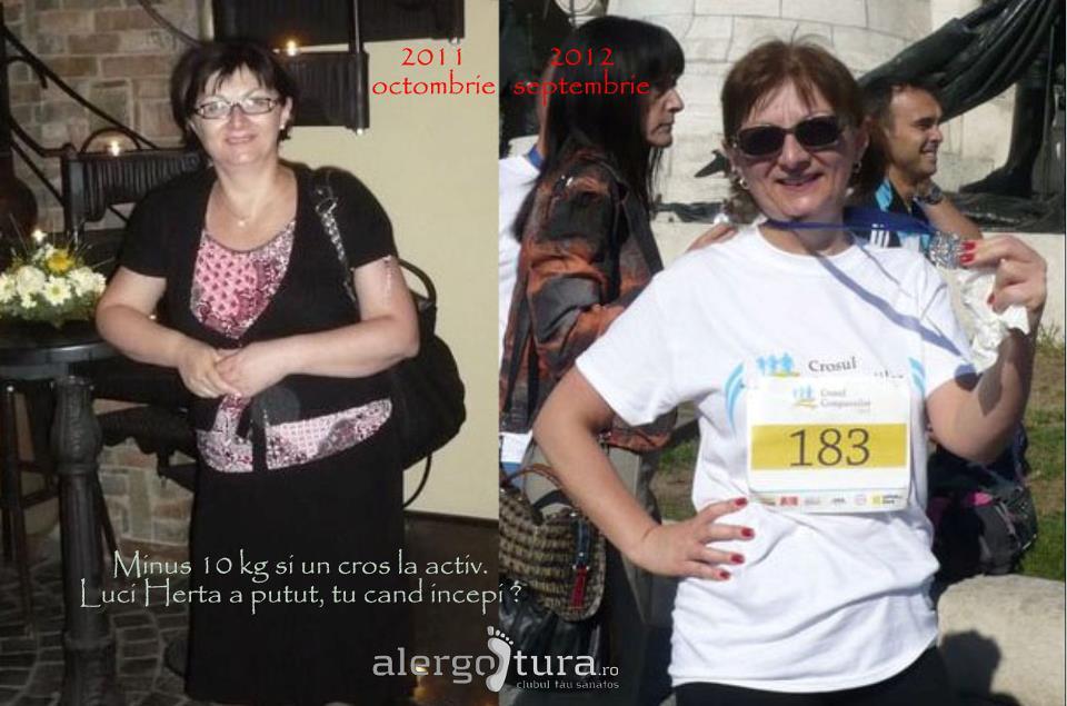 Beneficiile alergării: sănătate, veselie, minus 10 kg, competiții. Află cum a reușit Luci Herta de la Cluj!