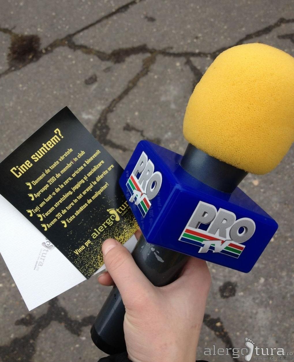 Stirile nationale ProTV de ora 19:00, din nou, despre Alergotura